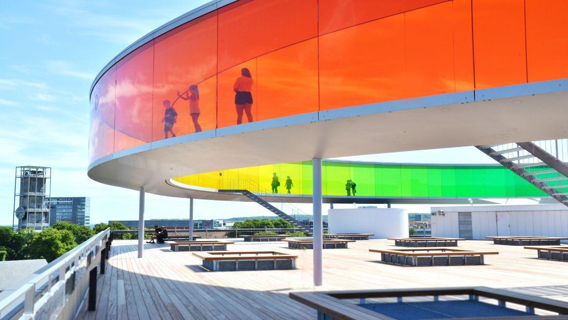 Rainbow Panorama in Aarhus, via VisitDenmark.com